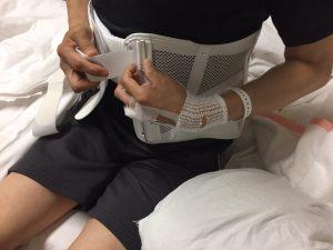 脊柱管狭窄症 コルセット