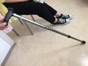 脊柱管狭窄症 杖