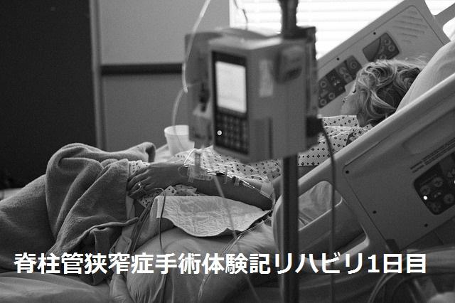 脊柱管狭窄症 手術体験記 リハビリ